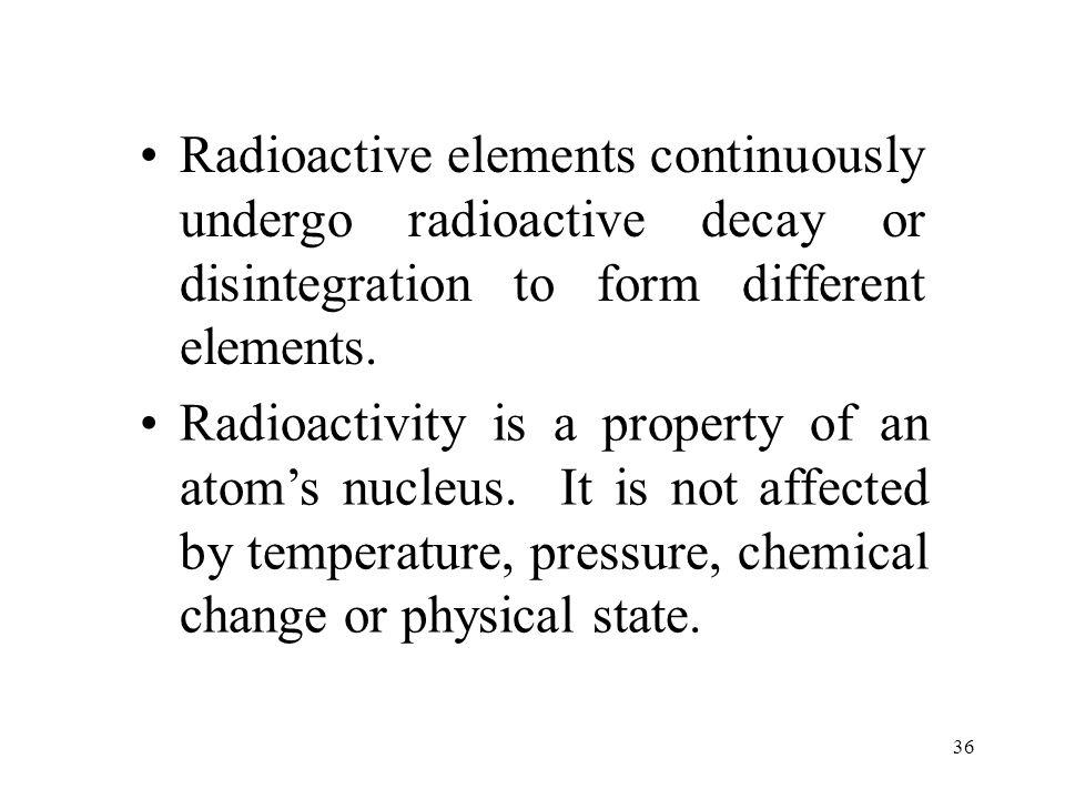 35 Natural Radioactivity