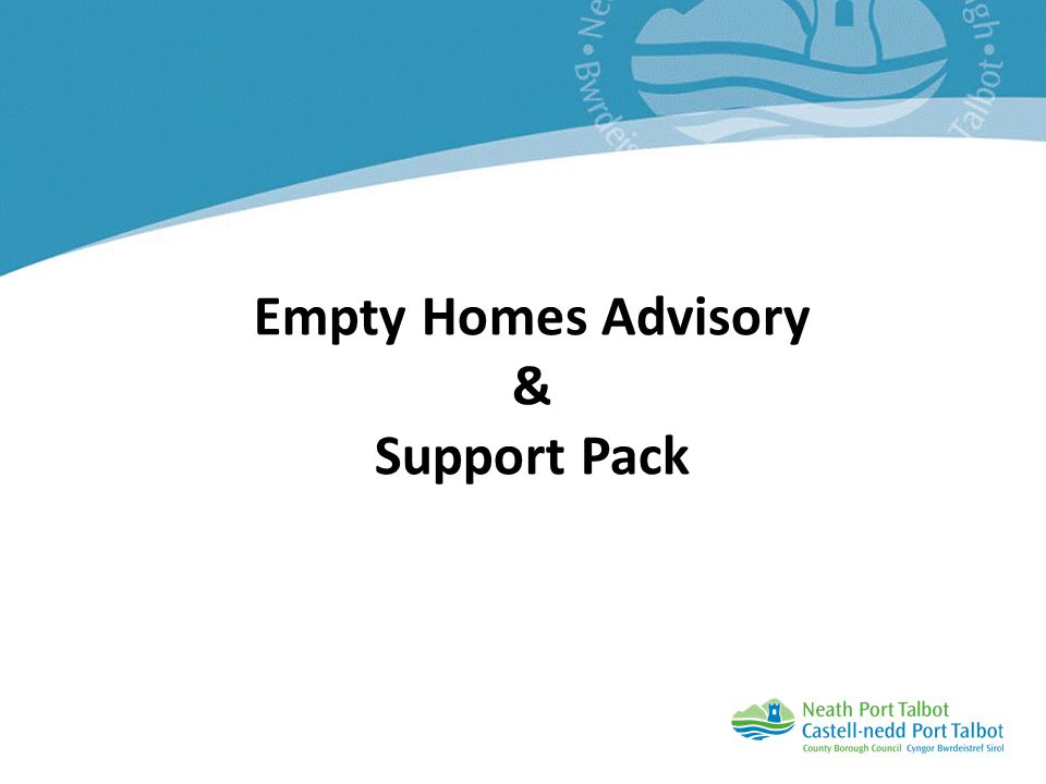 Empty Homes Advisory & Support Pack