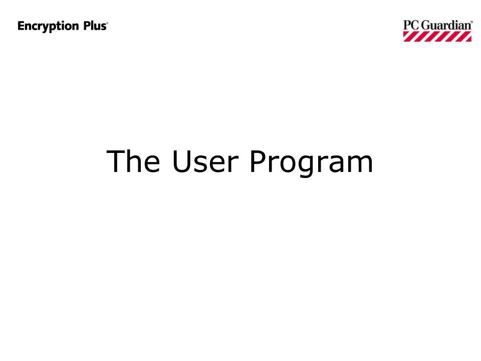 The User Program