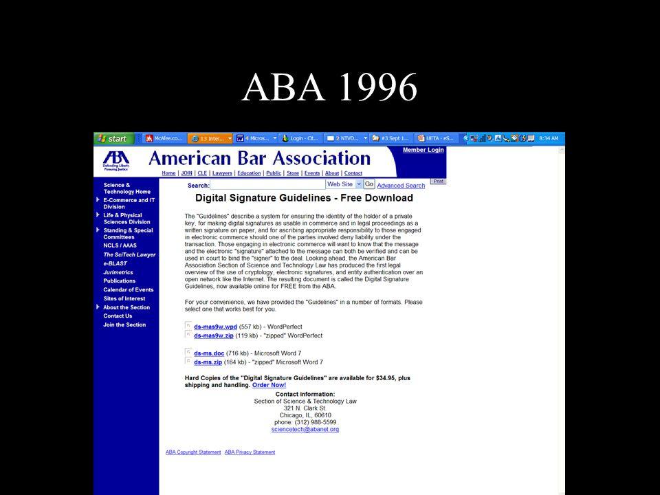 ABA 1996