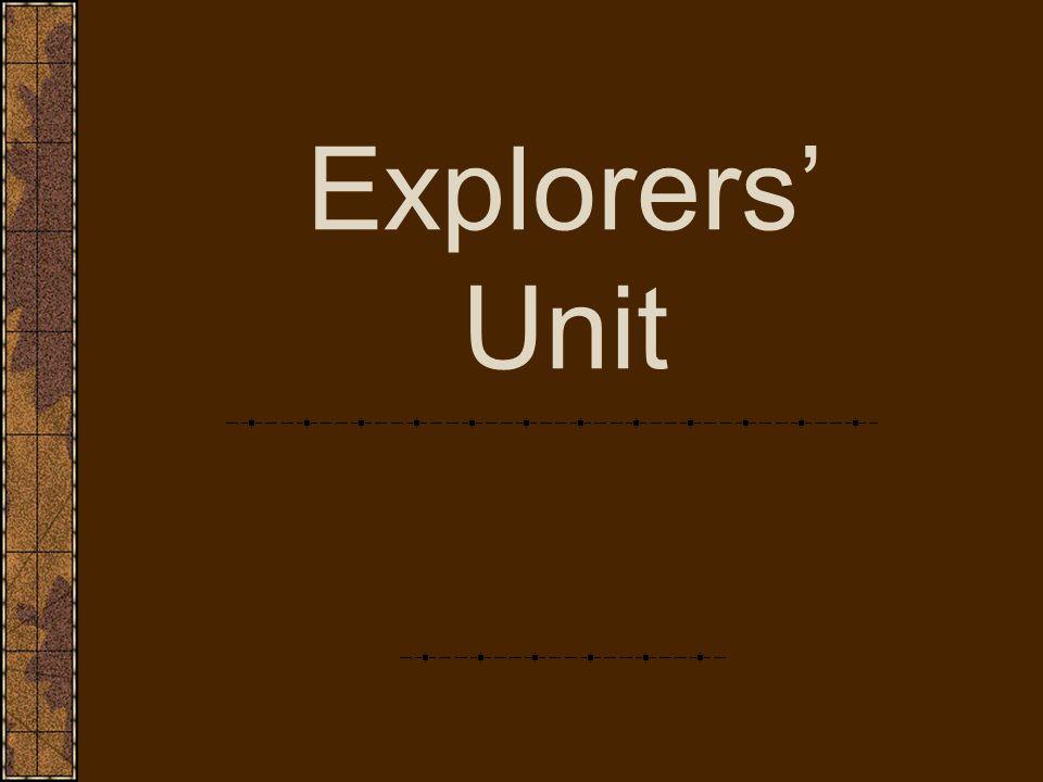 Explorers' Unit