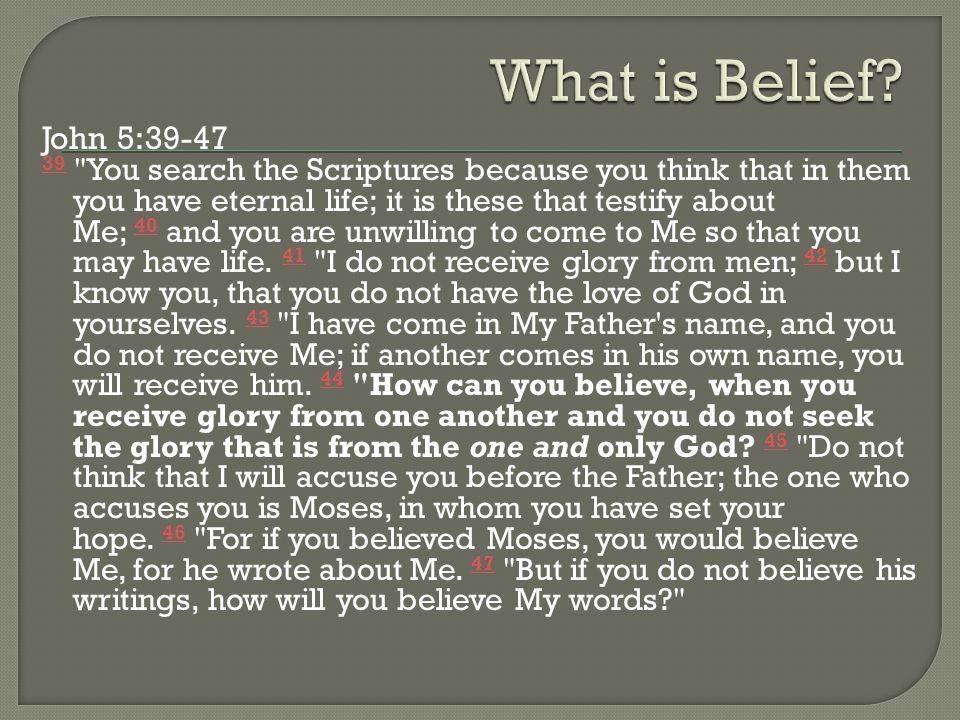 John 5:39-47 39 39