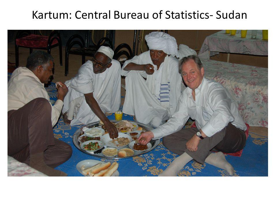 Kartum: Central Bureau of Statistics- Sudan
