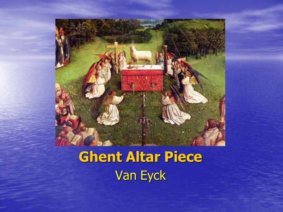Ghent Altar Piece Van Eyck
