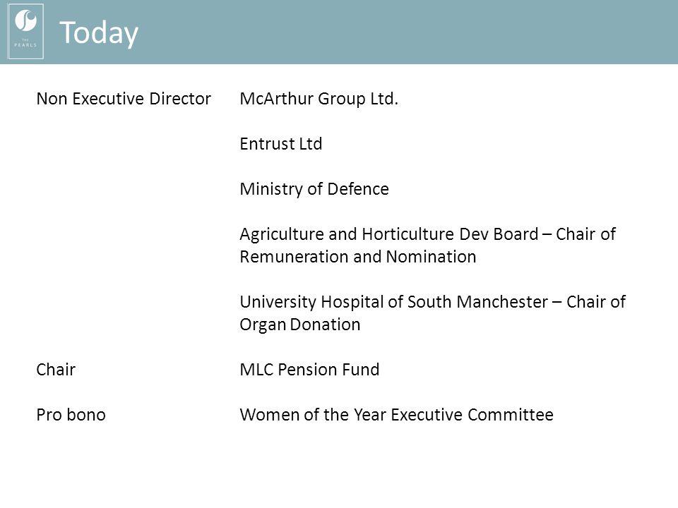 Non Executive DirectorMcArthur Group Ltd.