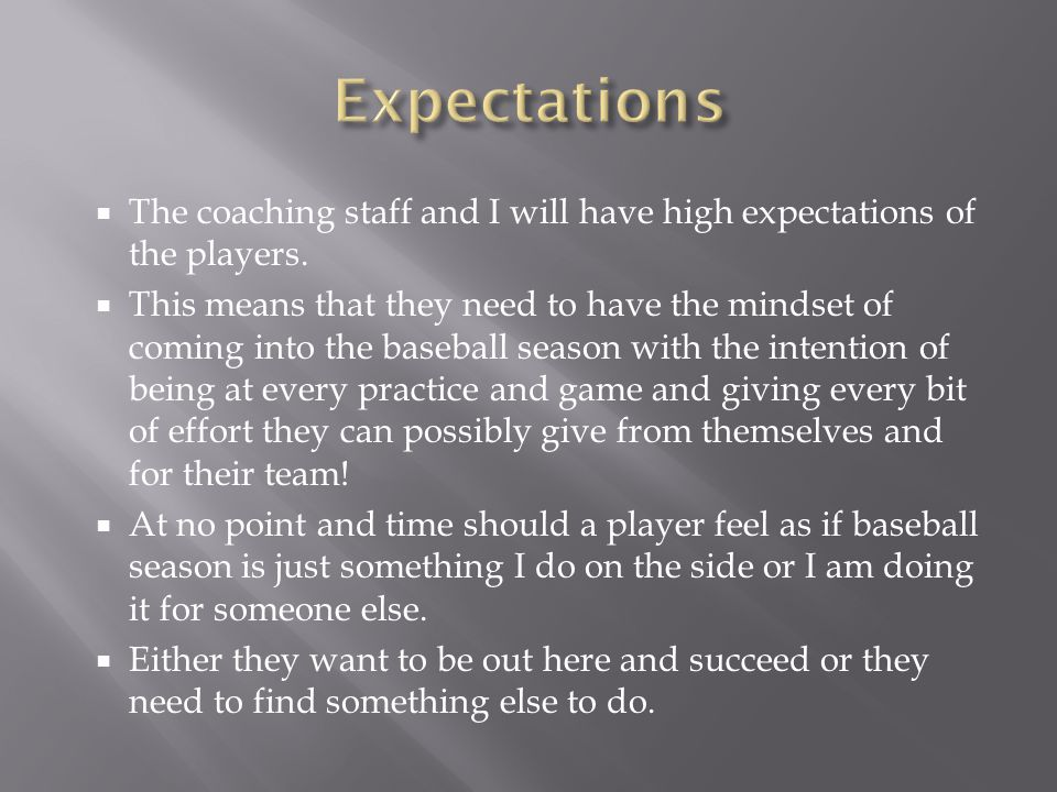  Philosophy  Games are won because of hard work at practice, time in the weight room, and mental toughness.