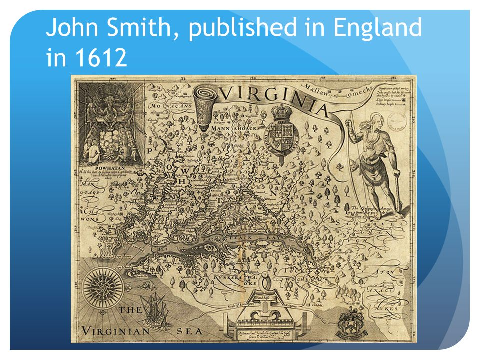 John Smith, published in England in 1612