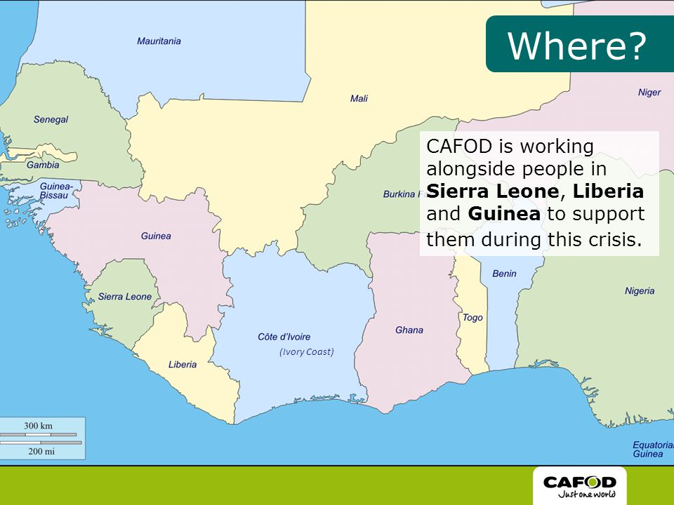 CAFOD is working alongside people in Sierra Leone, Liberia and Guinea to support them during this crisis.