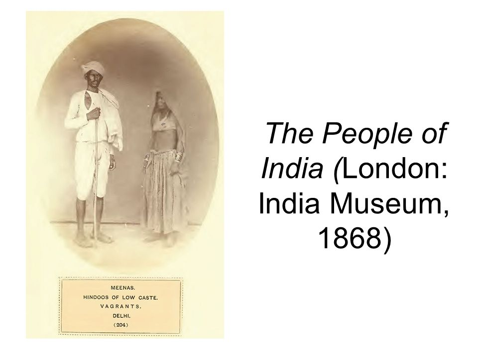 The People of India (London: India Museum, 1868)