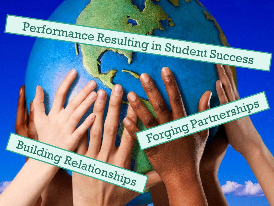 Building Relationships Forging Partnerships Performance Resulting in Student Success