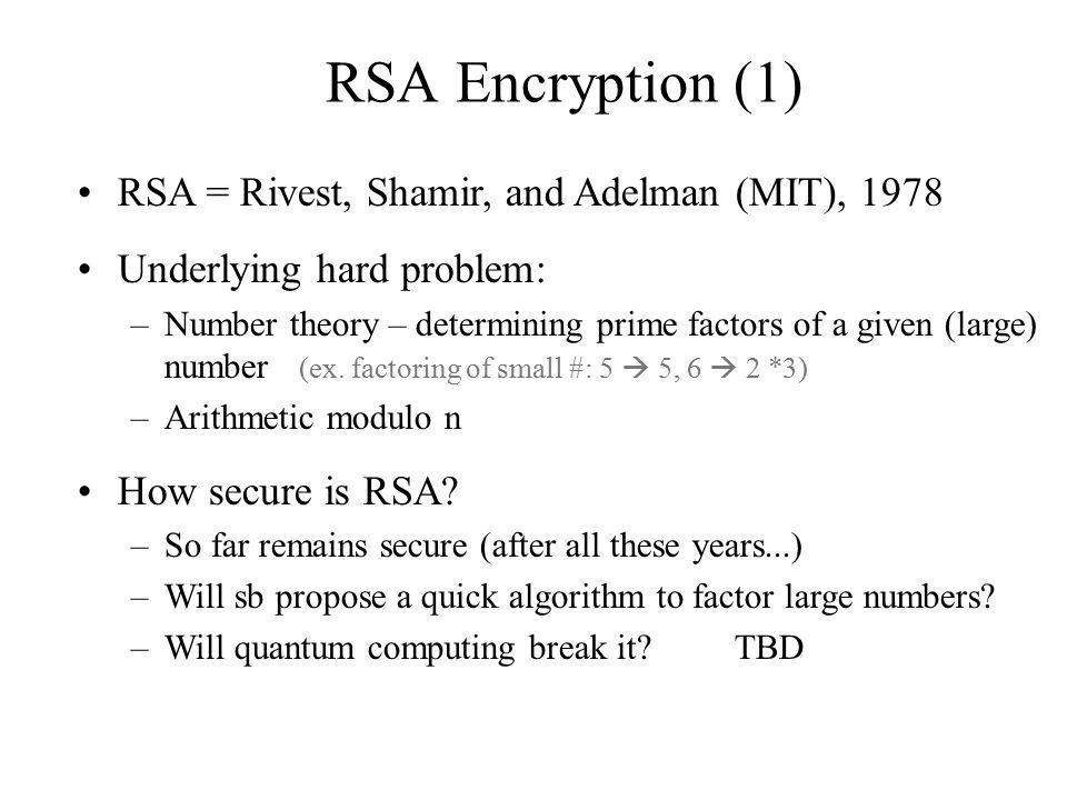 Digital Signatures (1) Outline: –a.Problem Definition –b.