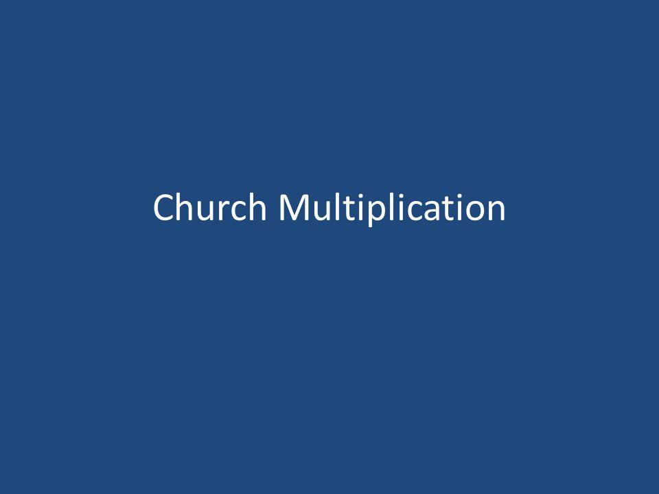 THE SPIRITUAL MULTIPLICATION PROCESS Application & Evaluation 1.