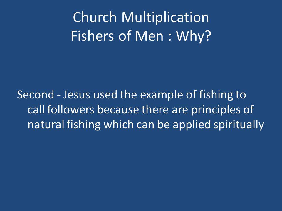 Church Multiplication Fishing Principles : What.