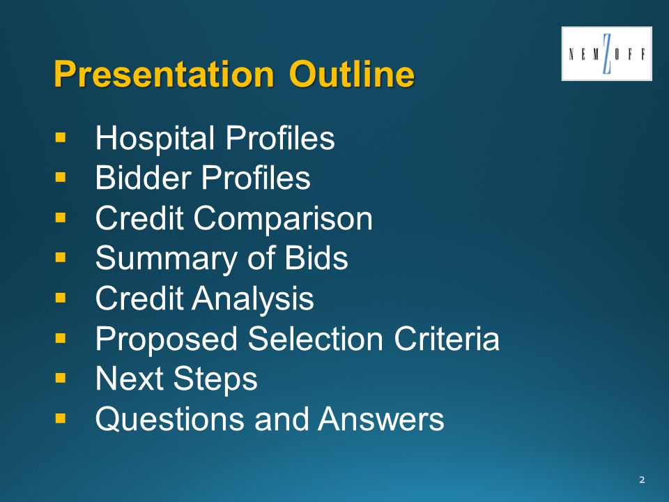 13 Bidder Profile LCMC - Accounting 101 What happened at LCMC in 2013.