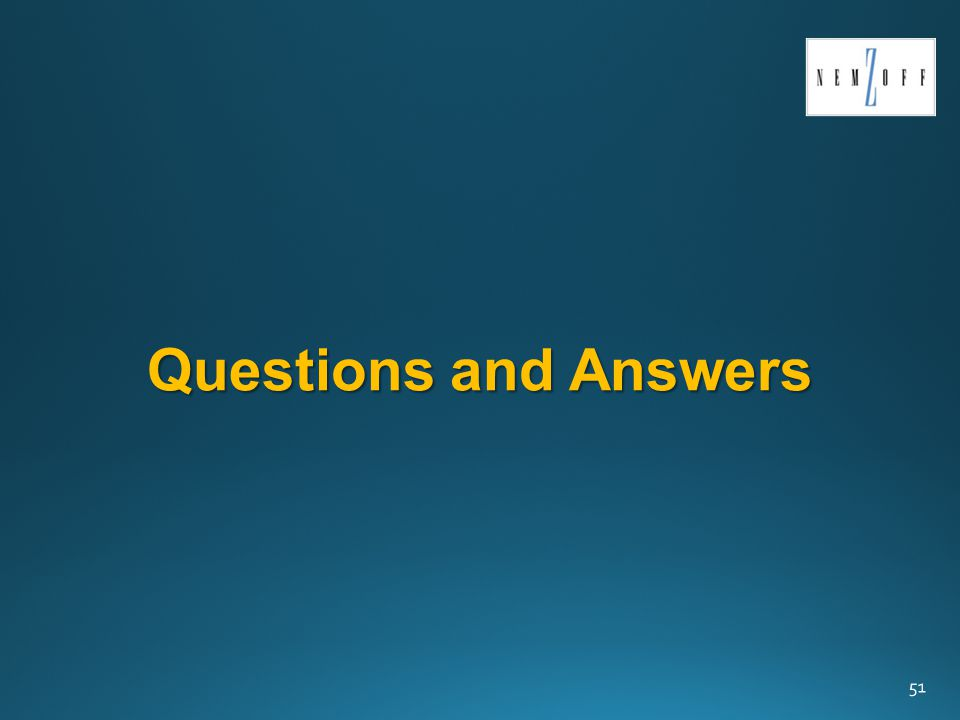 Questions and Answers 51