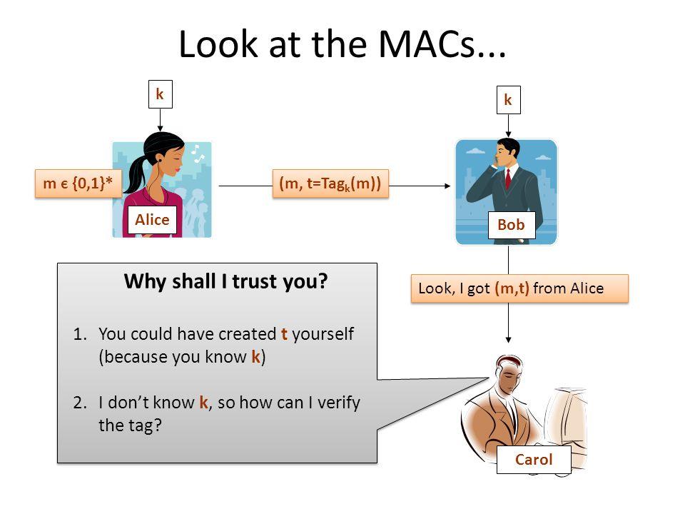 Look at the MACs...