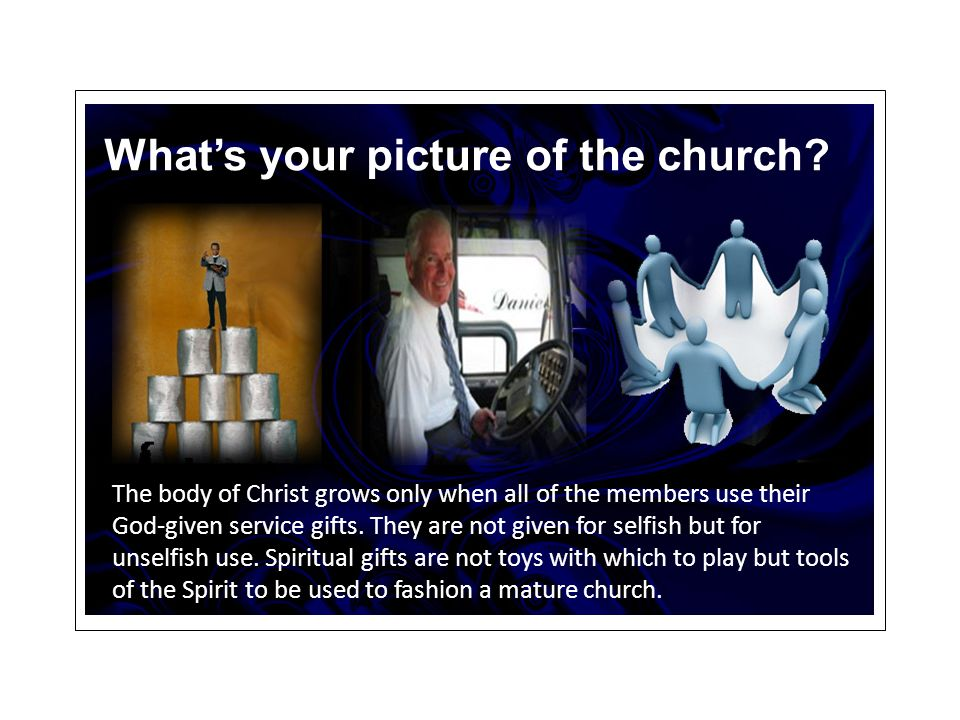 What's your picture of the church.