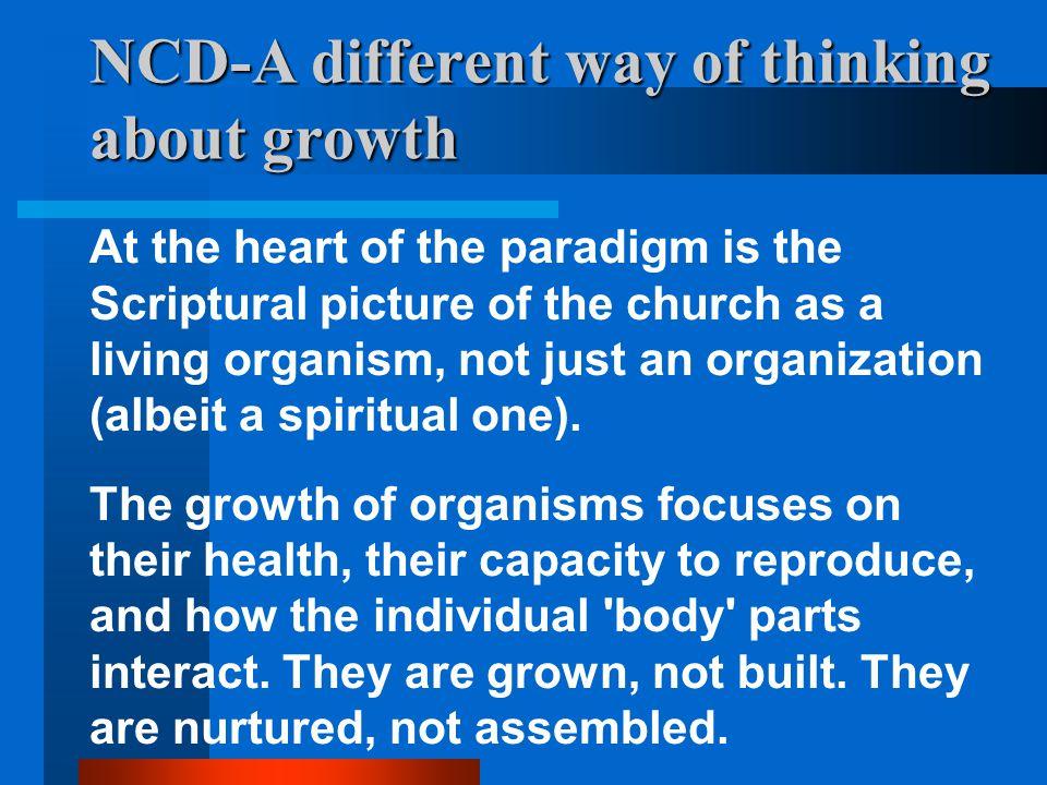 A healthy church: 8 characteristics 2.