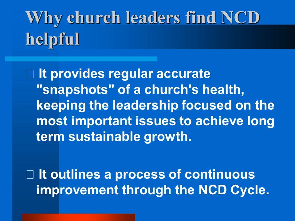 A healthy church: 8 characteristics 4.