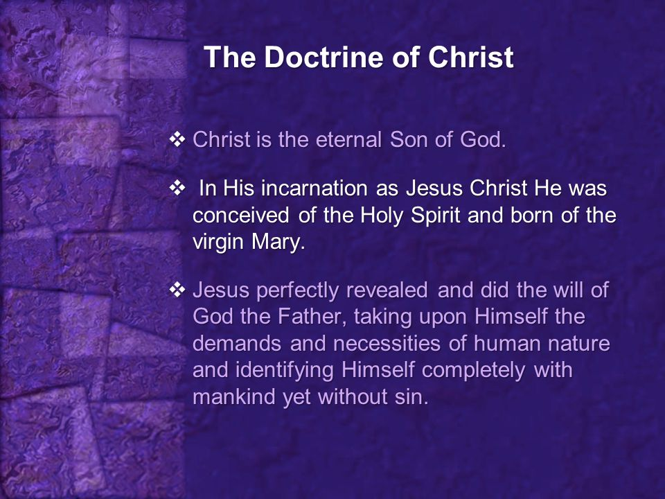 The Attributes of Christ 6.
