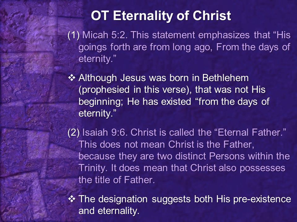 The Attributes of Christ 2.