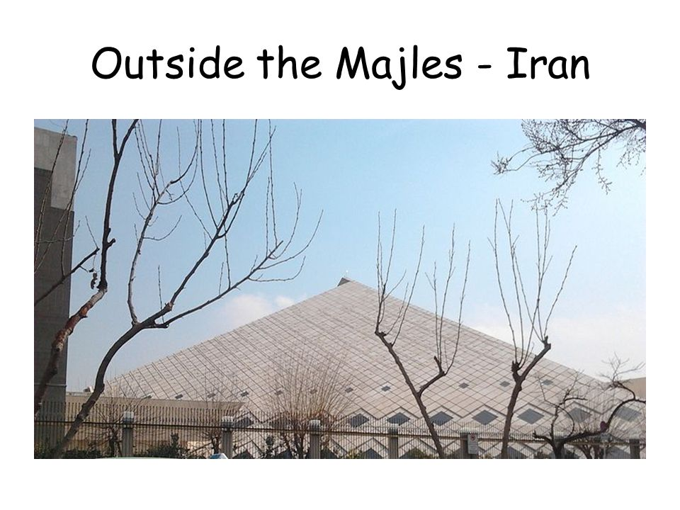 Outside the Majles - Iran