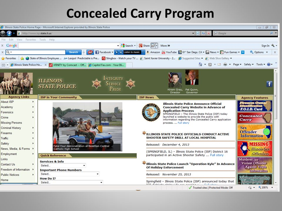 Concealed Carry Program Application