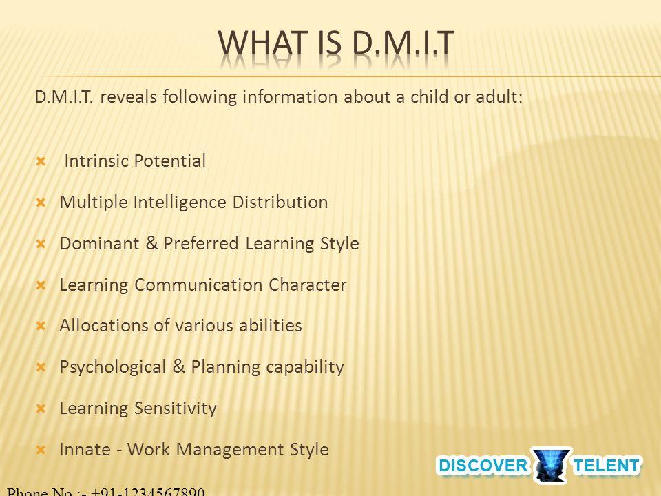 D.M.I.T.