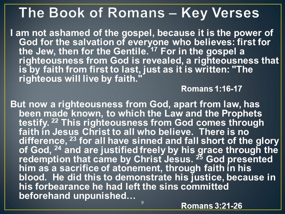 10 Author: Apostle Paul Date:c.