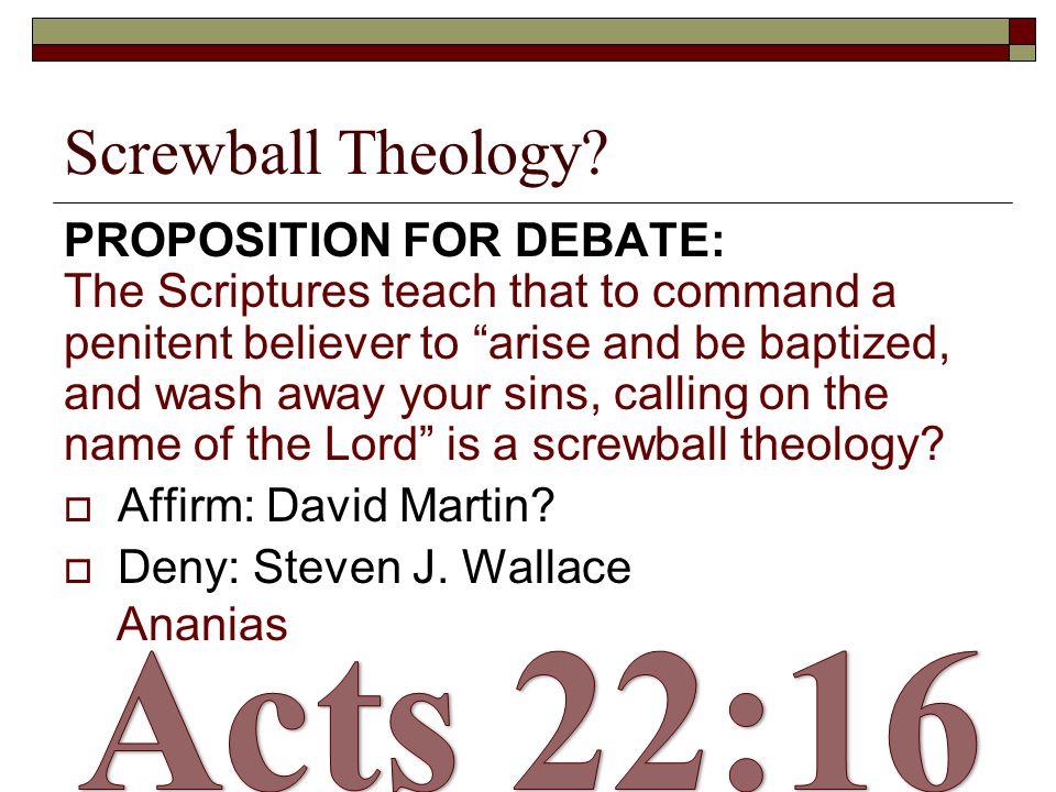 Screwball Theology.