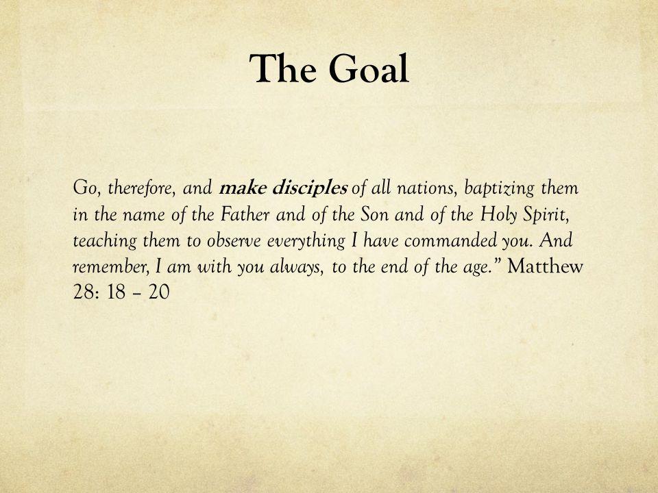 Teaching… Making disciples that make disciples.