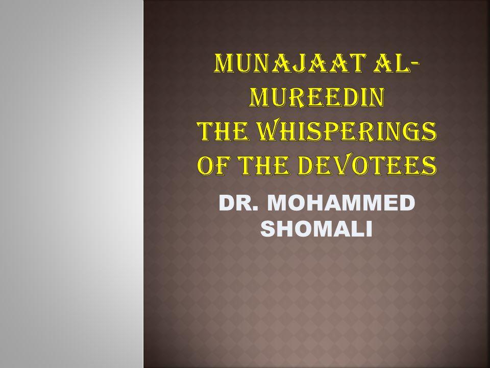 DR. MOHAMMED SHOMALI