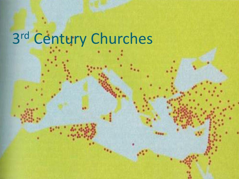 3 rd Century Churches