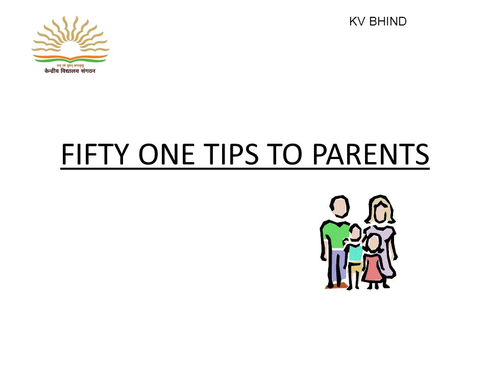 45.Do not watch TV or listen to radio after instructing the child to read or write.