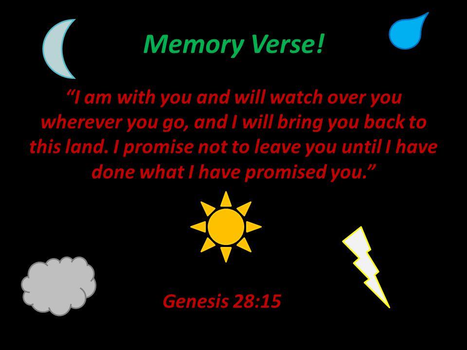 Memory Verse.