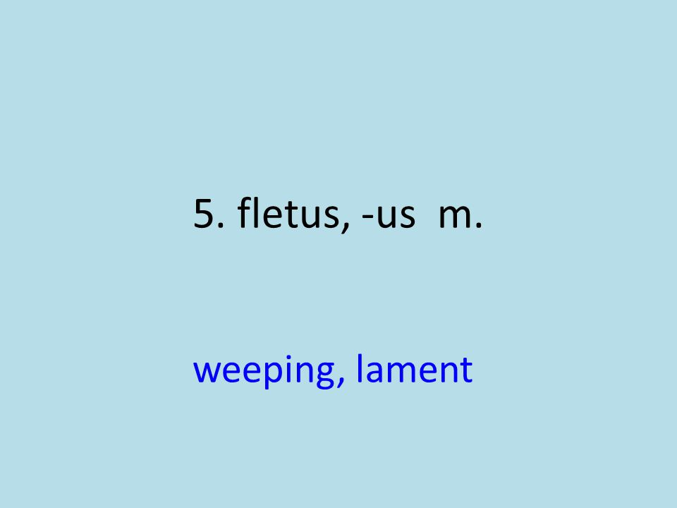 weeping, lament