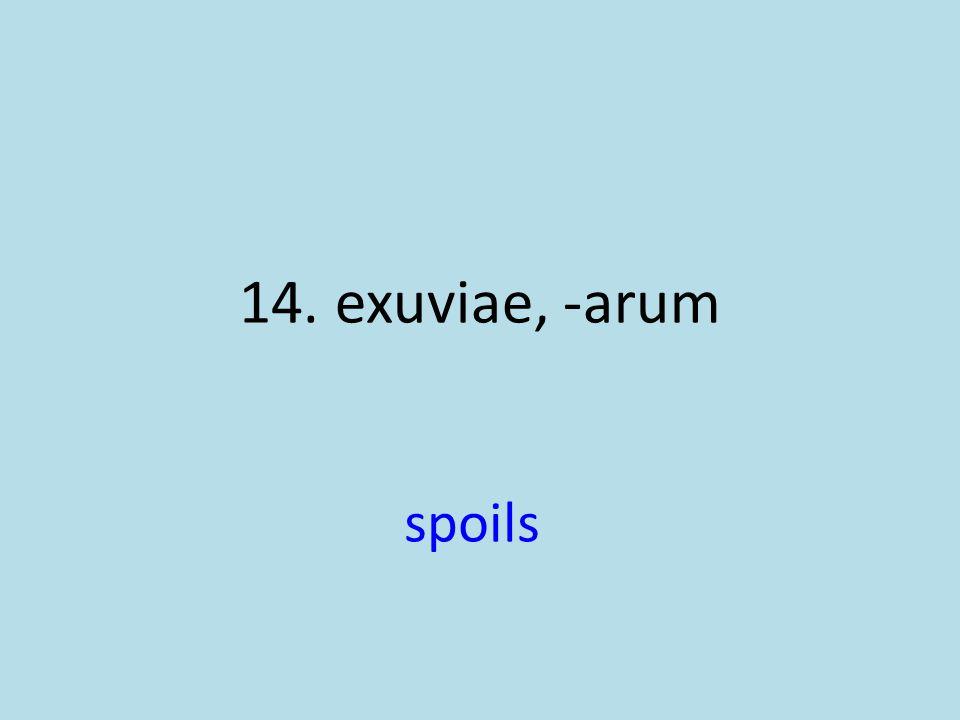 spoils
