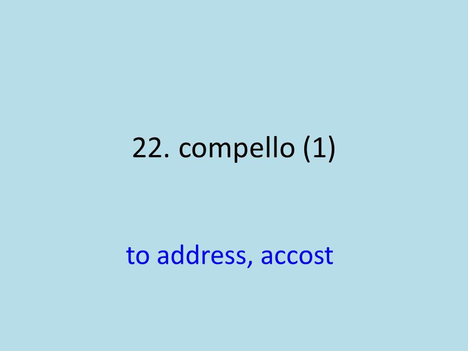 to address, accost