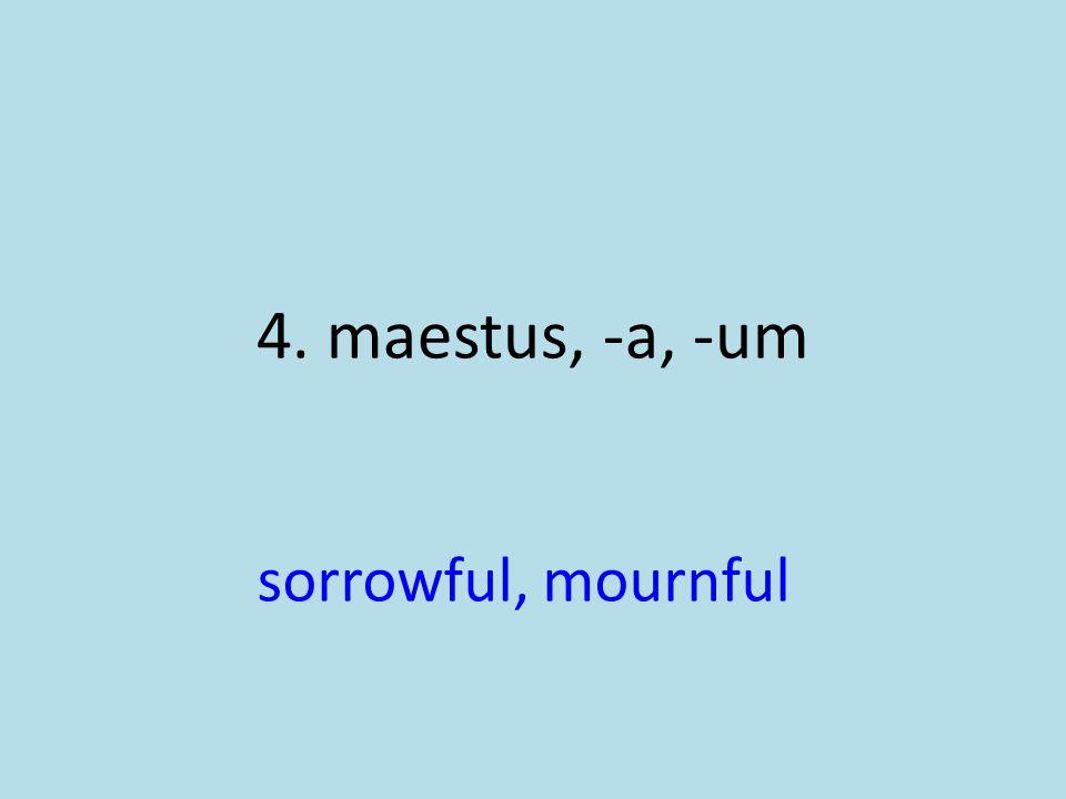 sorrowful, mournful