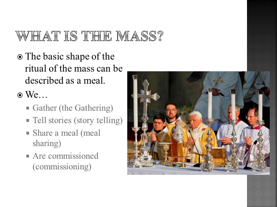  http://blogs.telegraph.co.uk/news/damianthompson/100052446/the -popes-mass-in-glasgow-are-benedict-xvis-liturgical-wishes- being-ignored/ http://blogs.telegraph.co.uk/news/damianthompson/100052446/the -popes-mass-in-glasgow-are-benedict-xvis-liturgical-wishes- being-ignored/  http://www.examiner.com/roman-catholic-in-national/catholicism- 101-why-do-catholics-make-the-sign-of-the-cross http://www.examiner.com/roman-catholic-in-national/catholicism- 101-why-do-catholics-make-the-sign-of-the-cross  http://loveofstpaul.blogspot.com/2009_11_01_archive.html http://loveofstpaul.blogspot.com/2009_11_01_archive.html  http://en.wikipedia.org/wiki/Church_tabernacle http://en.wikipedia.org/wiki/Church_tabernacle  http://www.newliturgicalmovement.org/2007/05/beacon-for- catholic-church-in-austria.html http://www.newliturgicalmovement.org/2007/05/beacon-for- catholic-church-in-austria.html  http://www.thecatholicsteward.com/2010/09/21/stewardship- reflections-on-lectionary-readings-%E2%80%93-oct-3-2010/ http://www.thecatholicsteward.com/2010/09/21/stewardship- reflections-on-lectionary-readings-%E2%80%93-oct-3-2010/  http://icdacanadasection.wordpress.com/discover/the-churchs- bible-the-bibles-church/ http://icdacanadasection.wordpress.com/discover/the-churchs- bible-the-bibles-church/  http://www.amdg.ie/tag/gc35/page/2/ http://www.amdg.ie/tag/gc35/page/2/