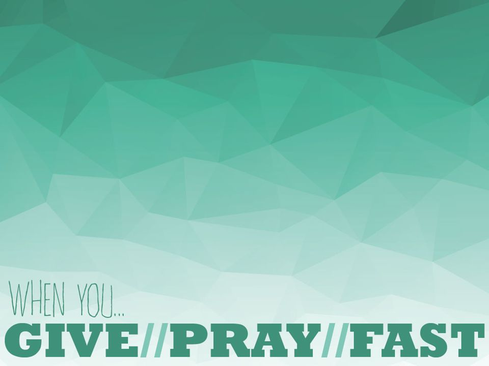 1.Giving Releases God's Blessing