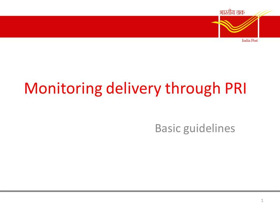 Why monitoring.