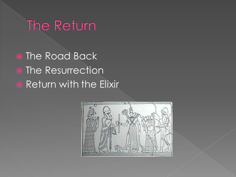  The Road Back  The Resurrection  Return with the Elixir