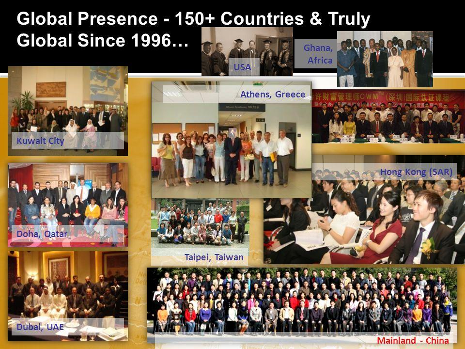 www.aafmindia.co.inwww.aafmindia.co.in © Copyright AAFM ® Board of Standards Global 1996-2012 Global Presence - 150+ Countries & Truly Global Since 1996… Mainland - China Hong Kong (SAR) Kuwait City Doha, Qatar Dubai, UAE Taipei, Taiwan Athens, Greece Ghana, Africa USA