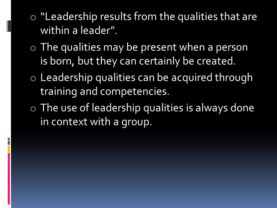 2) Favourability of Situation : Within 3 variables a leader has to work : - Leader-member relations - Work-structure - Position-Authority (i) Leader-member relations : It is determined in which manner the leader is accepted or rejected.