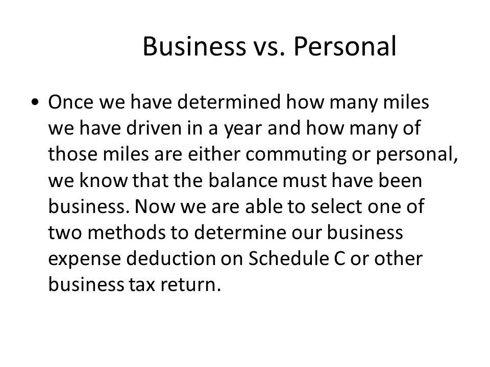 Business vs.
