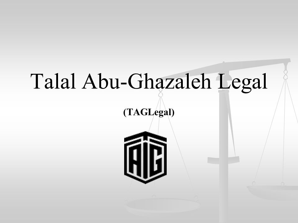 Talal Abu-Ghazaleh Legal (TAGLegal)