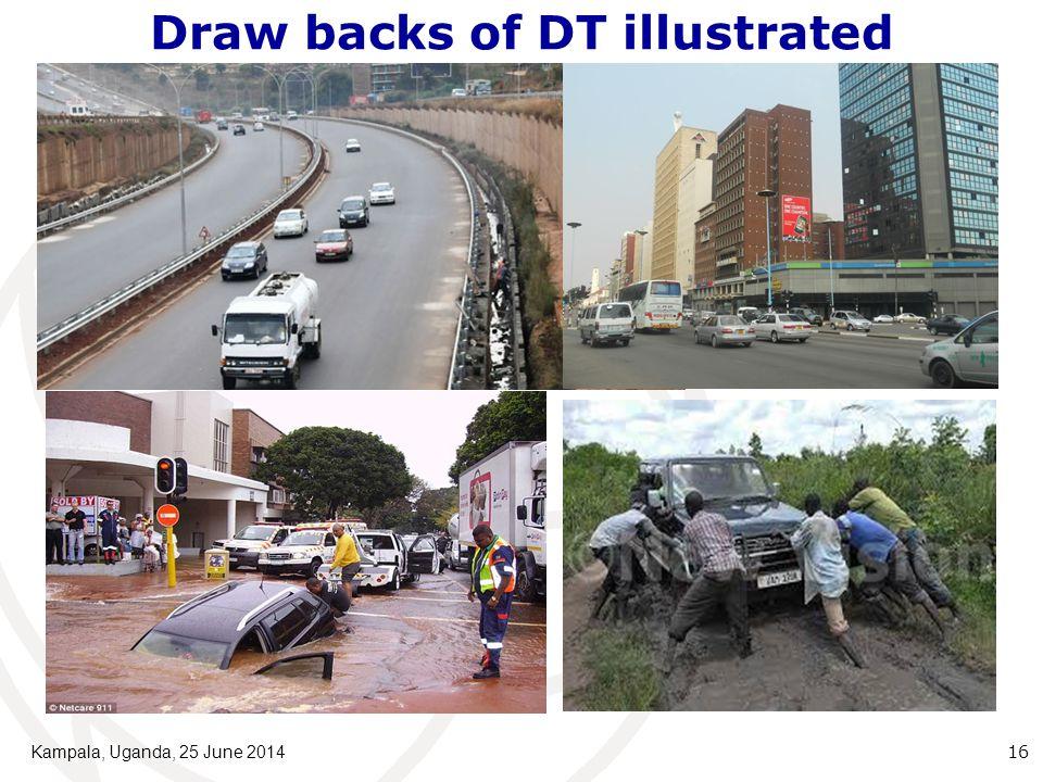 Draw backs of DT illustrated Kampala, Uganda, 25 June 2014 16