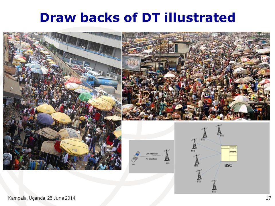 Draw backs of DT illustrated Kampala, Uganda, 25 June 2014 17