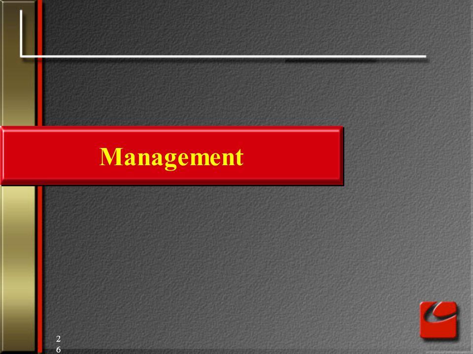 26 Management
